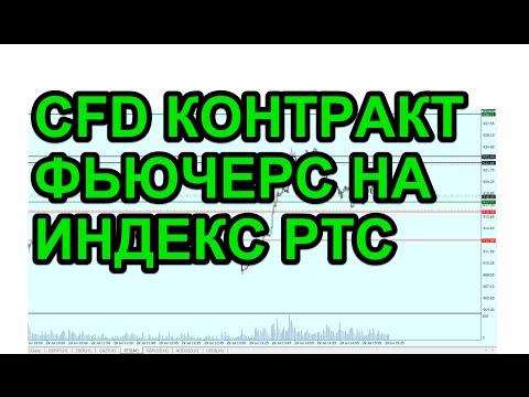 Торговля фьючером на индекс ртс в виде CFD контракта.