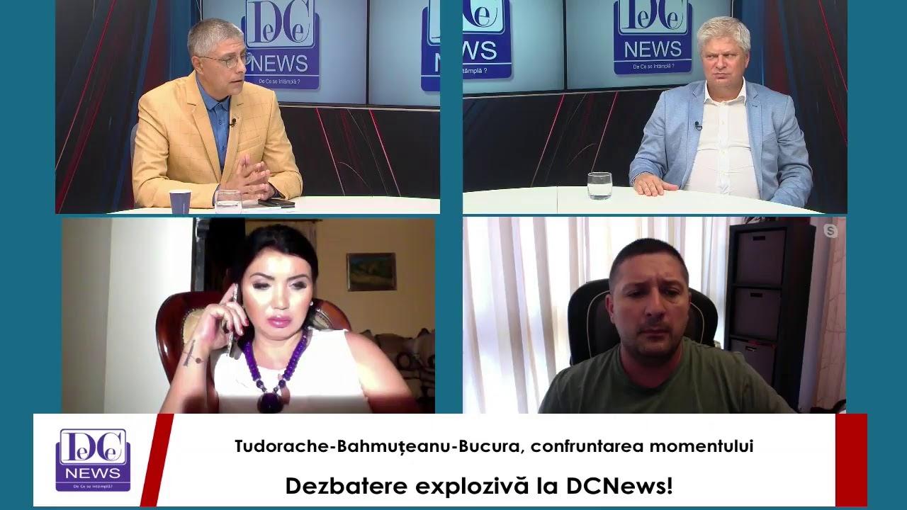 Dezbatere explozivă la DCNews! Tudorache-Bahmuțeanu-Bucura, confruntarea momentului