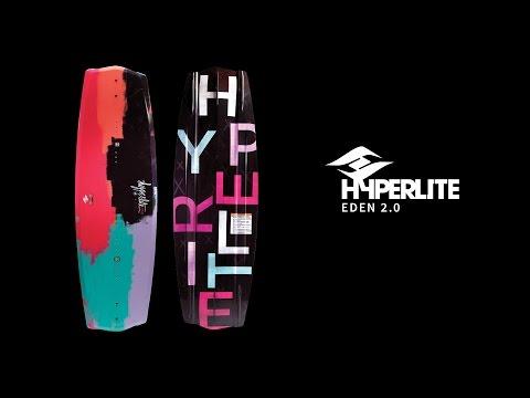 2017 Hyperlite Eden 2.0 Wakeboard