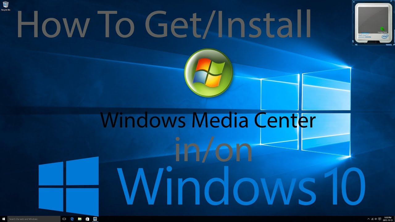 free download windows media center