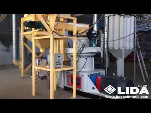 grass straw pellet production line 1 5ton per hour