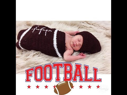 FOOTBALL SEASON BEGINS - BABY ELI FIRST FOOTBALL OUTFIT - GO COLTS