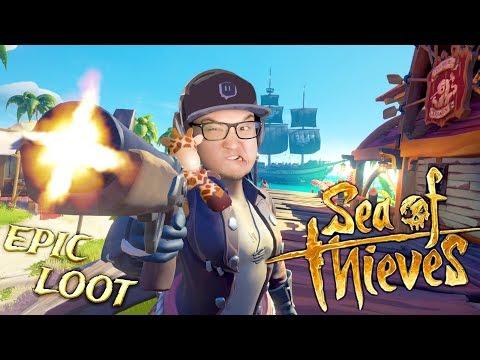 » EPISCHARRR LOOT! « PvP Piraten Seeschlacht und die Truhe voll Gold! - Sea Of Thieves 🏴 ☠