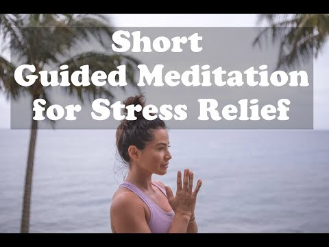 7 Minute Guided Meditation for Stress Relief
