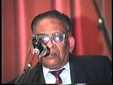 Jaffna Central OBA UK organized Cricketers Night UK 1992  Late Mr Ratnasingham Part 2