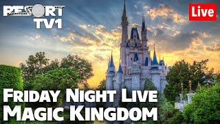 🔴Live: Magic Kingdom Friday Fun & Monorail Resort Hopping - 1080p Walt Disney World