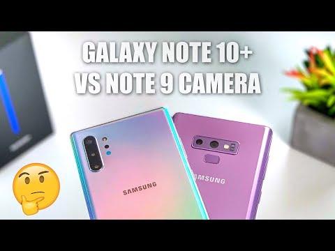 Galaxy Note 10 Plus Camera vs Note 9 Camera Test Upgrade?