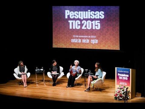 Lançamento Publicações TIC 2015 [áudio com tradução simultânea]