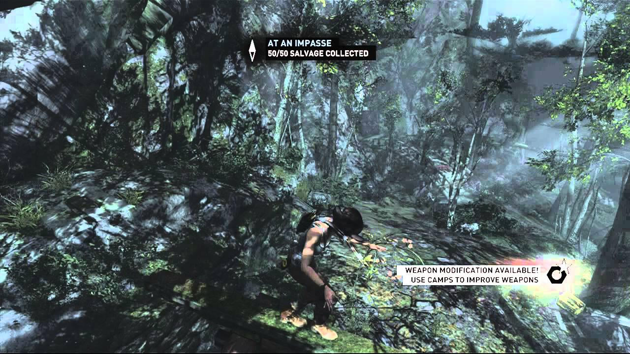 Tomb Raider - Coastal Forest Treasure Map Location HD