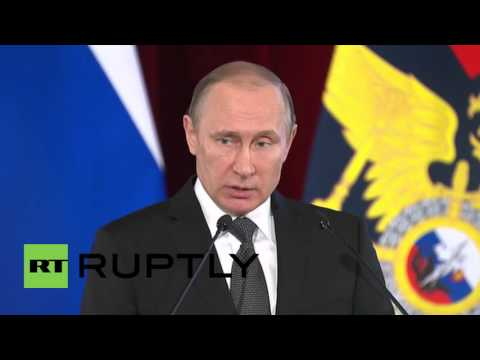 Russia: EU Refugee Crisis Would Be 'unacceptable' In Russia - Putin