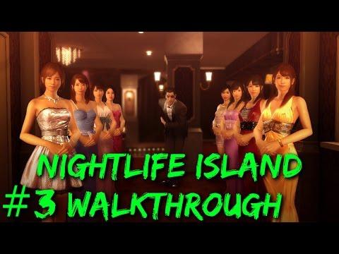 Yakuza 0 - Nightlife Island Walkthrough #3: Versus Club Jupiter! (Live Commentary)