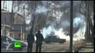 Массовые беспорядки в Азербайджане (ВИДЕО)