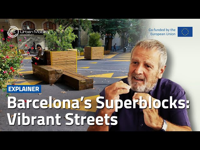 How can Superblocks create more vibrant streets?