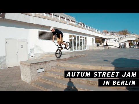 Autum BMX Street Jam in Berlin