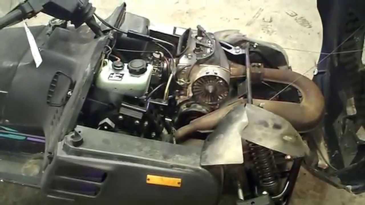 hight resolution of lot 2089a 1995 arctic cat puma 340 fan cooled 2 up youtube