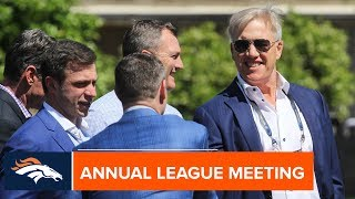 Rules changes & Broncos business: Recapping Monday at the Annual League Meeting