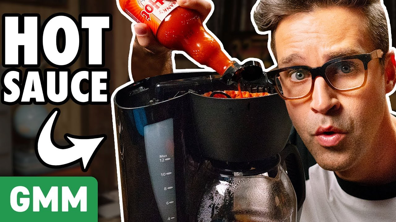 Putting Weird Things In A Coffee Maker (TEST)