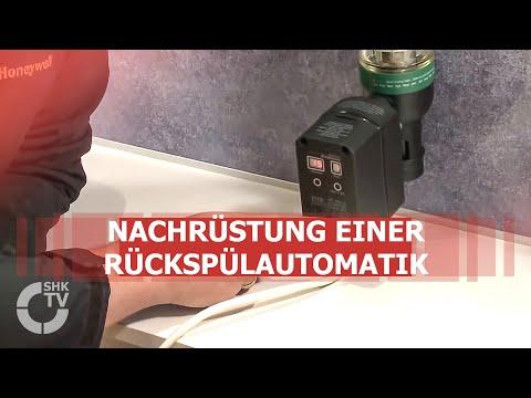 Honeywell: Nachrüstung einer Rückspülautomatik beim Trinkwasserfilter