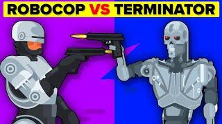 Terminator vs RoboCop – Who Would Win? (The Terminator Movie & Robocop Movie)