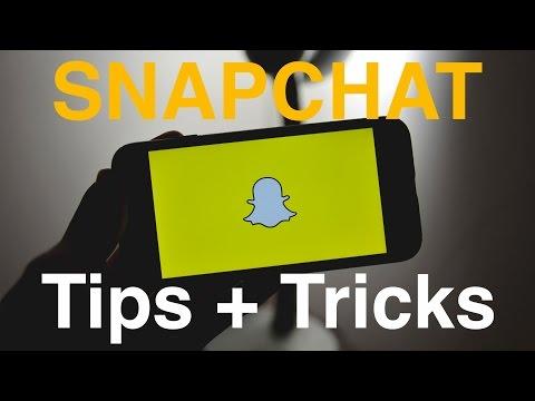 10 Snapchat Tips + Tricks! 2017 (How to Screenshot Secretly)