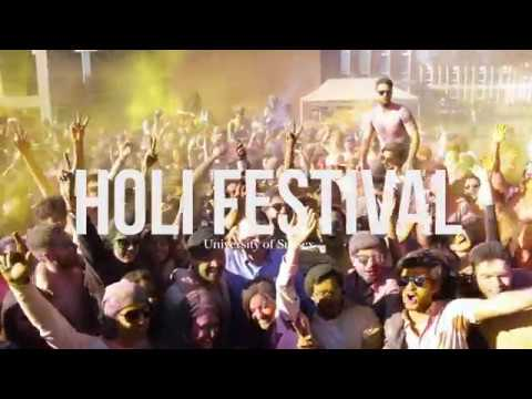 Holi 2017 | The Festival of Colour - University of Sussex