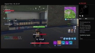 FORTNITE FIRST REAL LIVE STREAM WITH LIL BRO