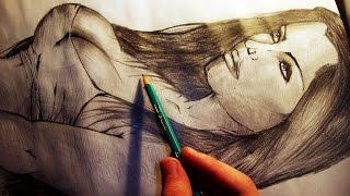Desenhando uma Mulher - (Drawing a Woman) - SLAY DESENHOS #59
