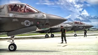 F-35B Lightning II Start-Up u0026 Takeoff • Valiant Shield 18