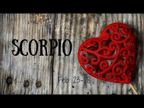 This person isn't ready for love (not yet), SCORPIO.
