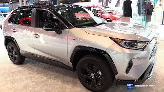 2019 Toyota RAV4 HSE - Exterior and Interior Walkaround - 2018 New York Auto Show