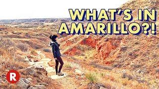 Getting to Know Amarillo, Texas // Alibates Flint Quarries // Cadillac Ranch // Big Texan