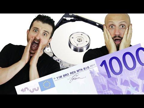BUTTA 6 MILIONI DI EURO... ERANO NELL'HDD