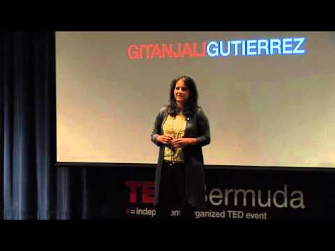 Gitanjali Gutierrez - Finding Humanity in the Tortured Darkness of Guantanamo - TEDxBermuda 2011