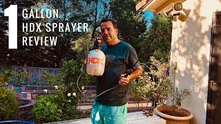HDX 1 Gallon Sprayer Review And Demonstration