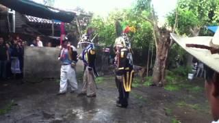 Danza de Los soldados en Ihuatzio