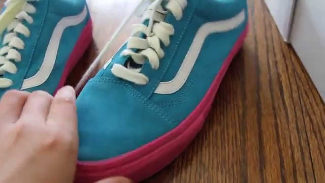 fa09a6b6c720 Tyler The Creator Golf Wang x Vans Syndicate Old Skool Pro S Sneaker Review  - YouTube