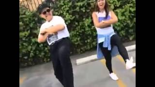 Liane V Vine #NaeNae dance w Wally Valenzuela father daughter edition #27926; #2807;