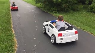 Police Parenting 101: Chase Techniques