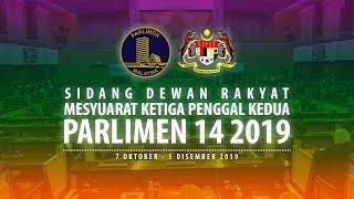 #LIVE Parlimen 24 Oktober 2019   Sesi Pagi