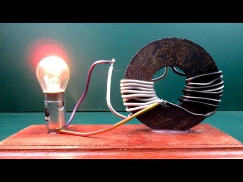 Free energy generator Magnet Coil Work 100% - New Science pr