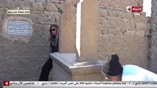 ريهام سعيد تمارس طقسا مثيرا في المقابر | في الفن