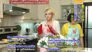 Danish Vegan Kransekage (ring Cake) - Traditional Celebratory Confection (1/2)