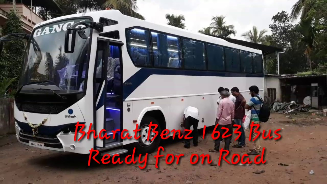 Bharat Benz Bus 1623 Ready For On Road