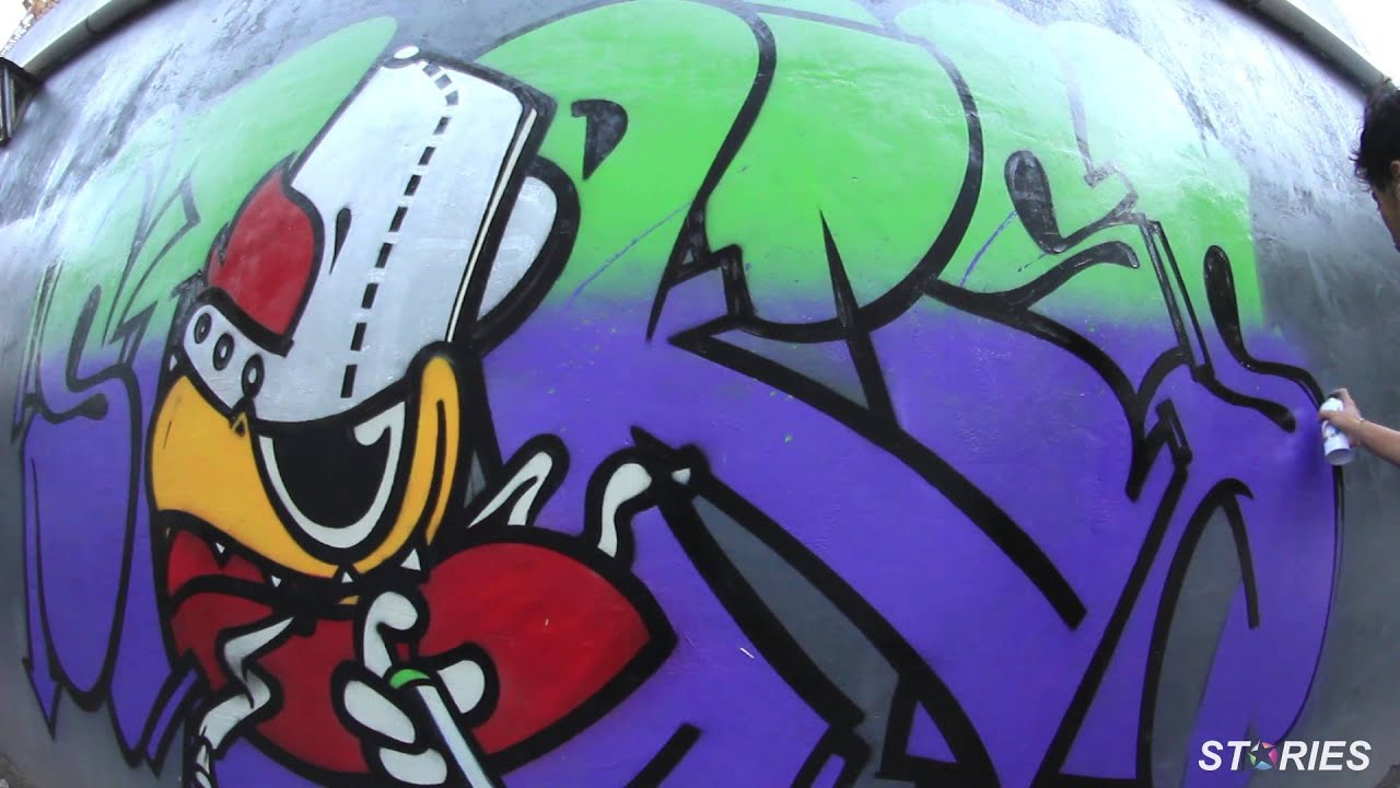 Graffiti Timelapse Yogyakarta Indonesia By Setsu Heine Grow And Bfc Crew Youtube