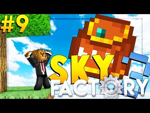 Minecraft SkyFactory 3 - NUCLEAR REACTORS - Modded Survival #9