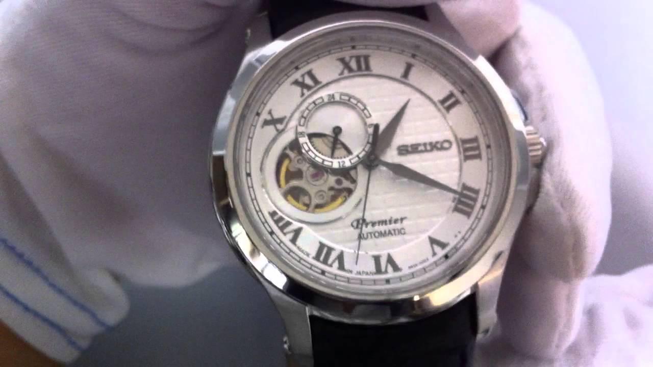 6e577664f Men's Seiko Premier Automatic Watch SSA027 - YouTube