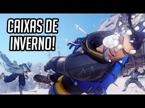 OVERWATCH - ABRINDO CAIXAS DE INVERNO 2017!