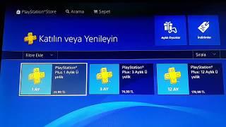Playstation 4 İninal kart sorunu ve çözümü / Playstation Store'dan alış veriş yapma