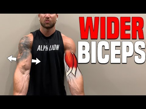5 Bicep Exercises For WIDER/THICKER Arms (FIX SKINNY BICEPS!)