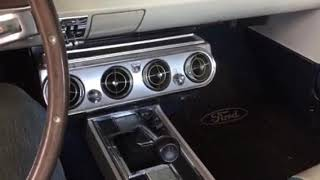 1965 Mustang Rally Pack Tach